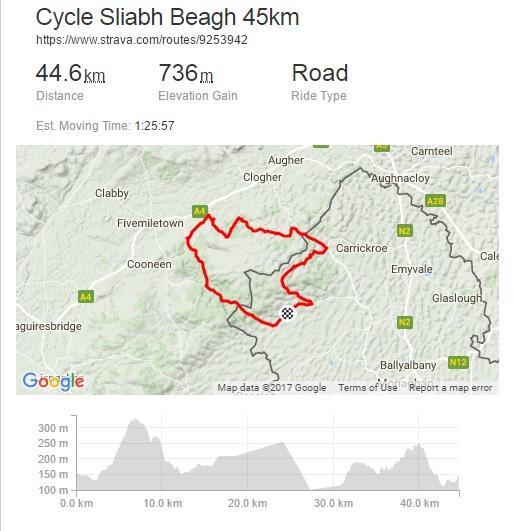 45km Route Image